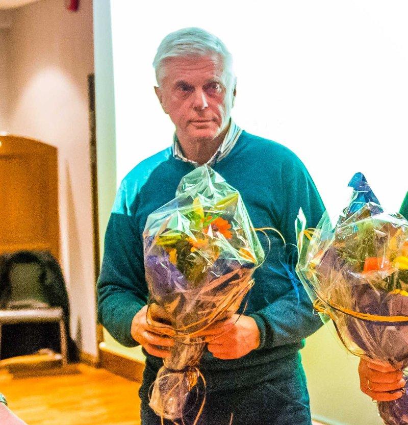 Bent Brande gjør en formidabel jobb for klubben ved å ha orden på sakene i AaFK Historisk Arkiv. Foto: Marius Simensen (msfoto.no)