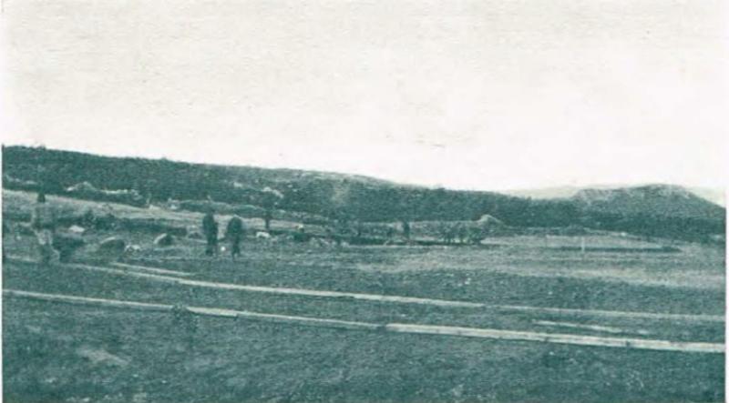 Det ble jobbet godt med å planere ut det som skulle bli AaFKs første hjemmebane, Nørvebana.