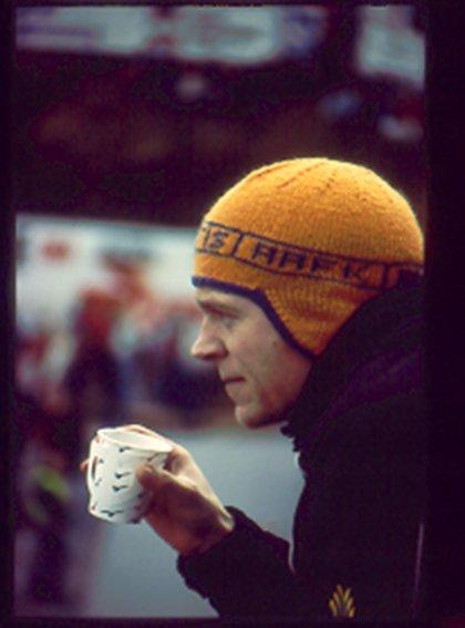 """Erling """"Yttis"""" Ytterland er en av klubbens legender, en entertainer med Kråmyra som lekegrind."""