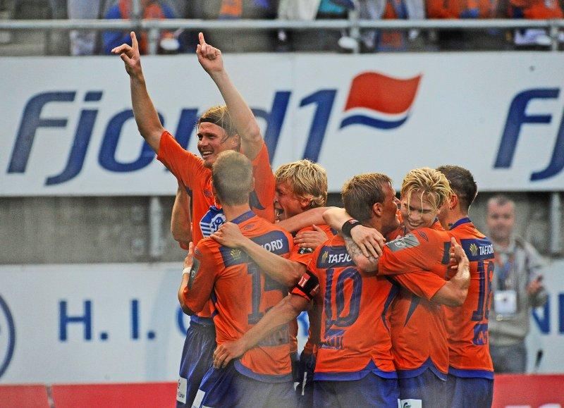 2010-sesongen endte med 4. plass. AaFK var bedre om våren enn om høsten denne sesongen. Foto: André Pedersen / Scanpix