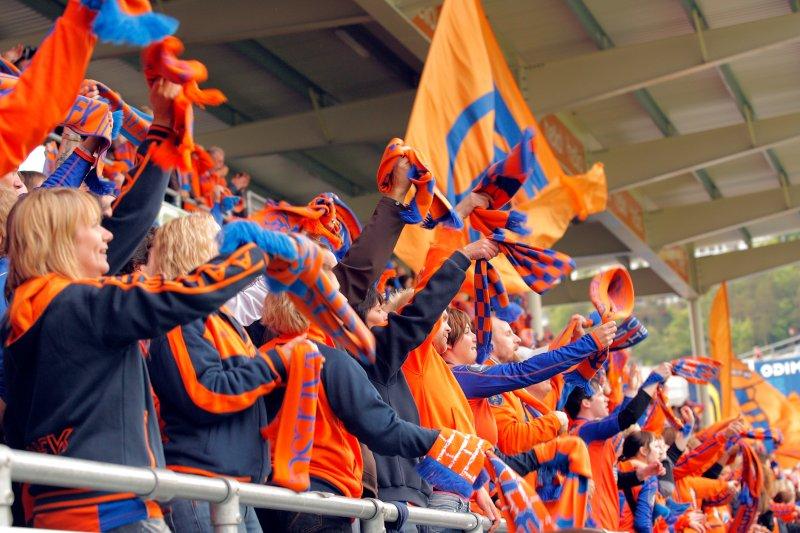 I 2006 var AaFK omtrent ustoppelige i vårsesongen. Supporterne fikk mye å juble for i opprykksesongen. Foto: Svein Ove Ekornesvåg / SCANPIX
