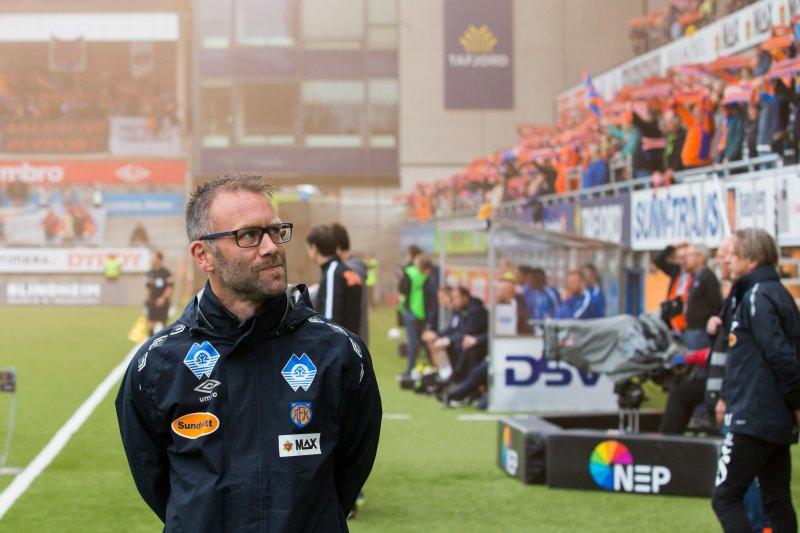 Trond Fredriksen fra hjemmekampen mot Molde FK. Foto: NTB Scanpix