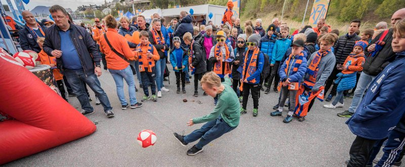 Fra tidligere Fanzone. Foto: Geir Bjørndal Srisoi