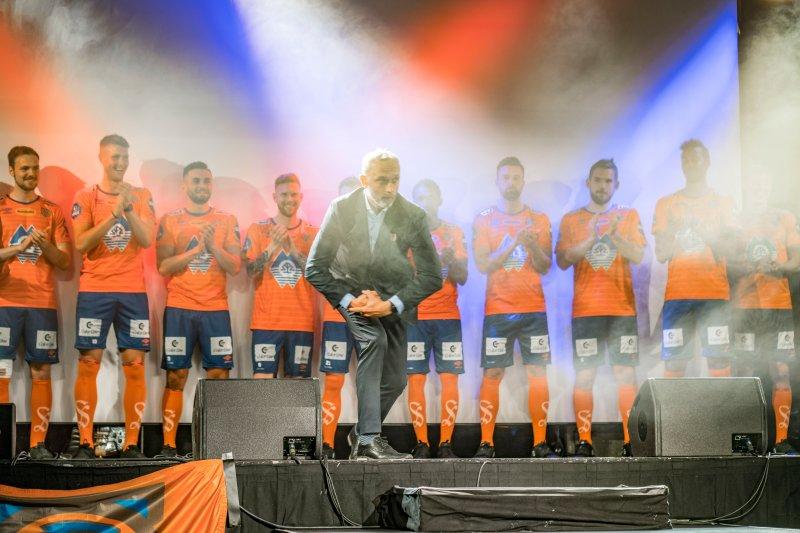 Lars Bohinen under Kick Off 2018! Foto: Geir Bjørndal Srisoi