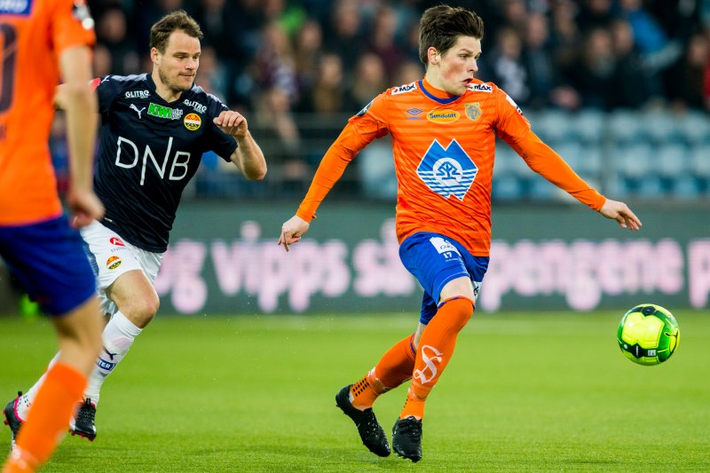 Det endte 1-1 mellom AaFK og Strømsgodset sist de møttes. Foto: NTB Scanpix