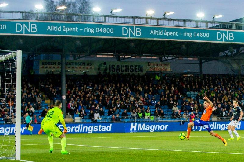 Mustafa scoret sist lagene møttes. Får vi se nok et mål av toppscorern? Foto: NTB Scanpix
