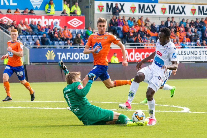 Andreas Lie mot FK haugesund tidligere i år: Foto: NTB Scanpix