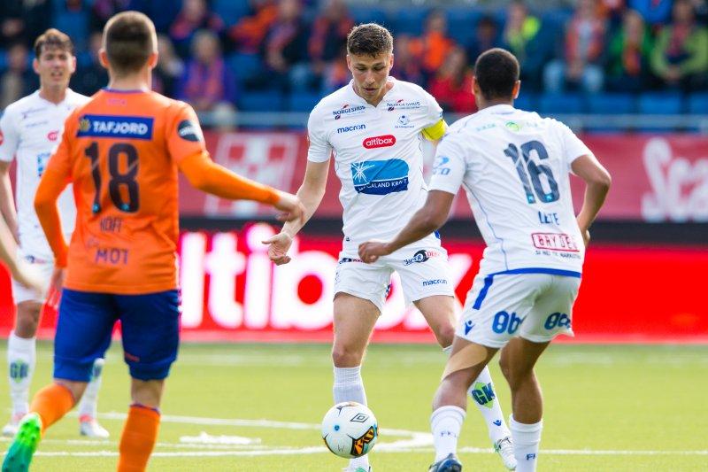 FK Haugesund vant 0-1 sist lagene møttes. Foto: NTB Scanpix