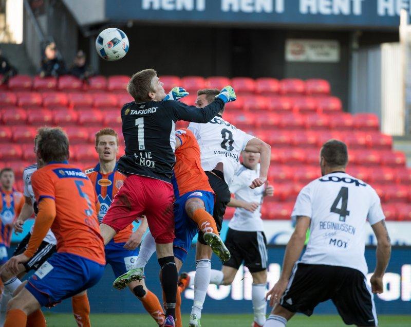 Fra kampen mot Rosenborg i Trondheim, 2016. Foto: NTB Scanpix