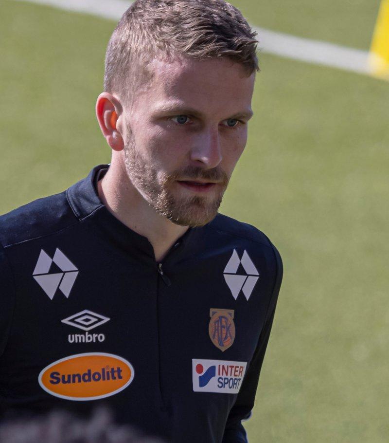 Torbjørn Kallevåg med fokus i blikket. Foto: Jon Forberg
