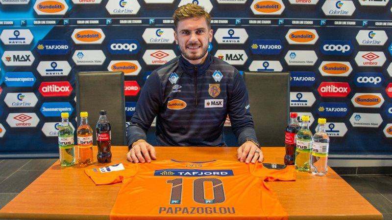 Athanasios Papazoglou har signert ut året. Foto: Srdan Mudrinic