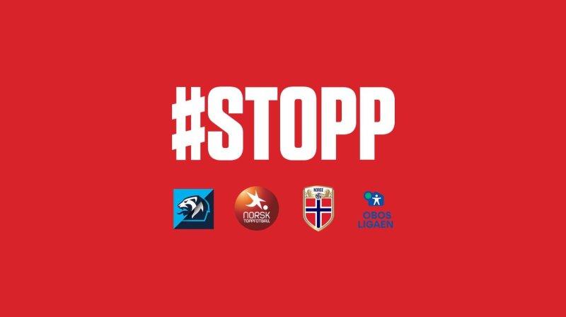 Nå sier fotball-Norge et rungende STOPP! i kampen mot rasisme på baner og tribuner.