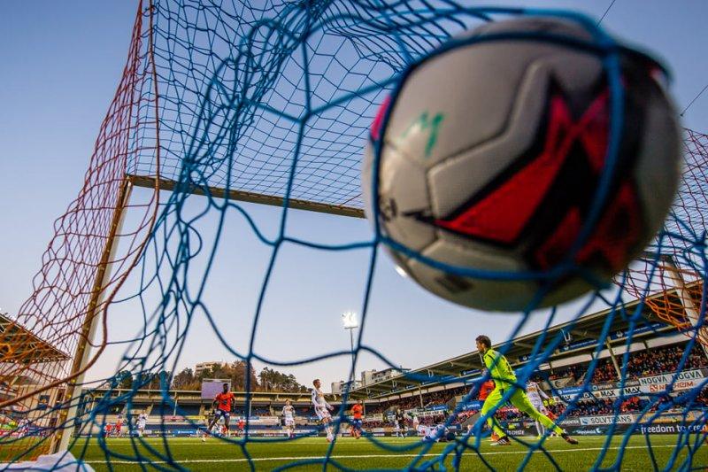Det ble hele 67 nettkjenninger for våre gutter i årets OBOS-liga. Foto: Bildbyrån / Marius Simensen