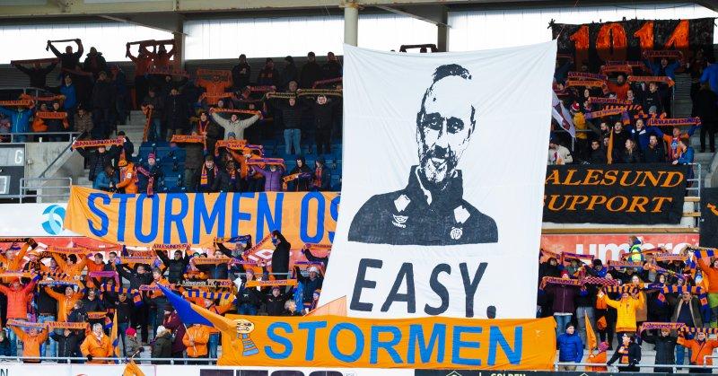 Våre supportere på Z-feltet har vært fantastiske denne sesongen. Foto: Svein Ove Ekornesvåg / NTB scanpix