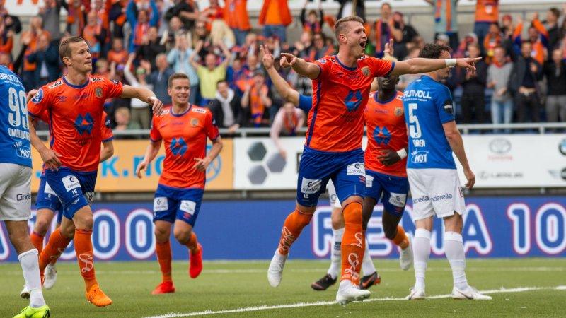 AaFK knuste Molde i cupen! Foto: Srdan Mudrinic